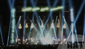 Cortina Veneciana para concierto en Madrid y Barcelona